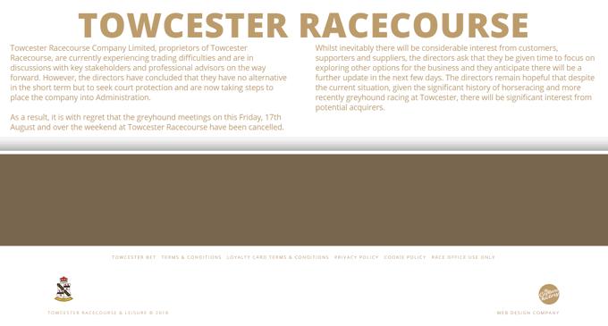 Towcester Racecourse Website