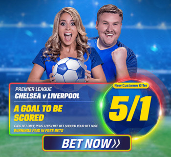 Coral - 5/1 For Any Goal
