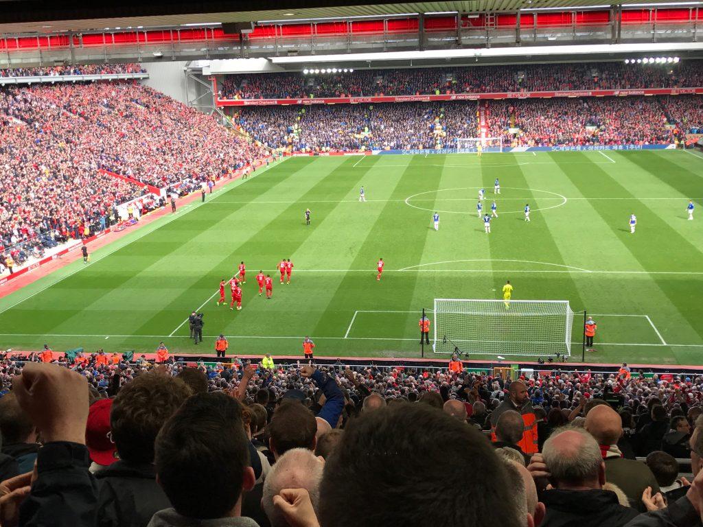Merseyside Derby Action