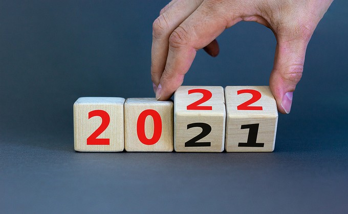 2021 and 2022 Wooden Cubes