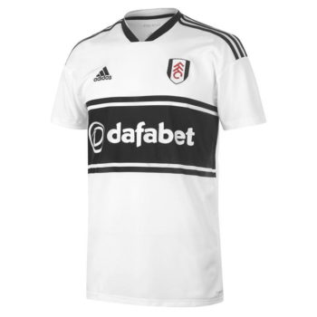 Fulham Shirt with Dafabet Sponsor