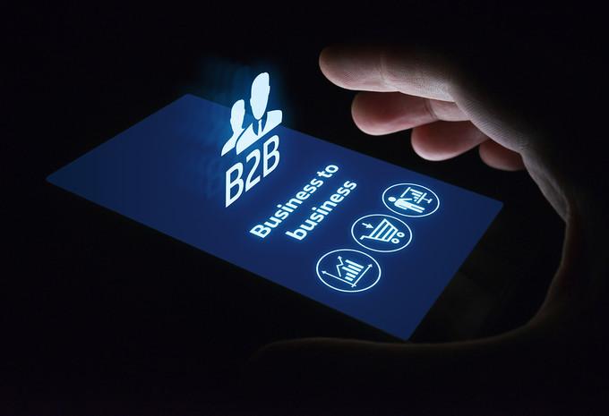 B2b on Smartphone