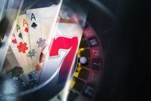 Casino Graphic Dark Background