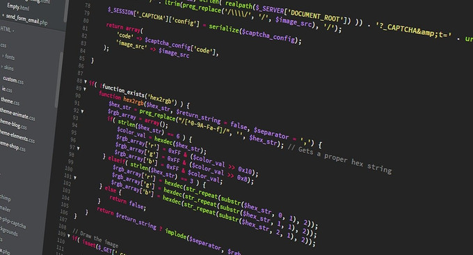 Coding on Monitor