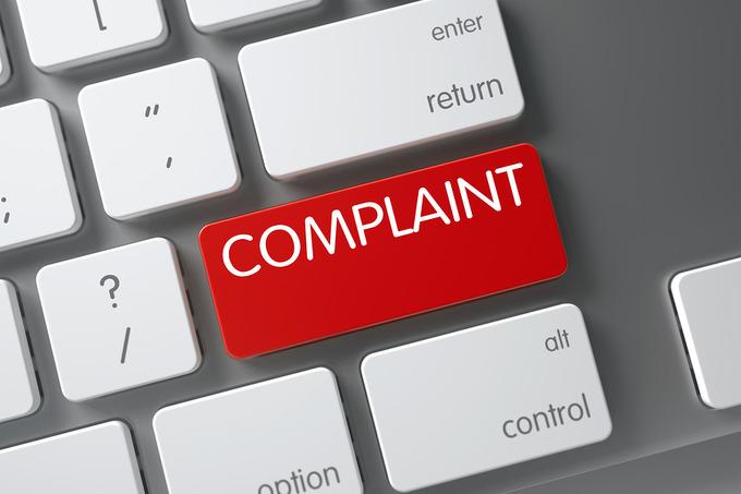 Complaint Computer Button