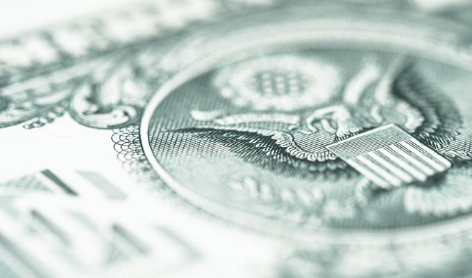 Dollar Bill Close Up