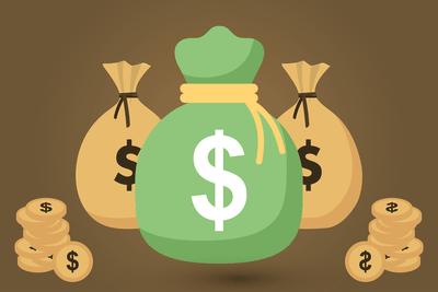 Money Bags Graphic