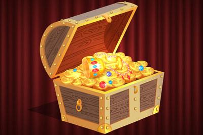 Treasure Chest Graphic
