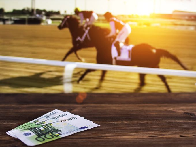 Betting on a horse race