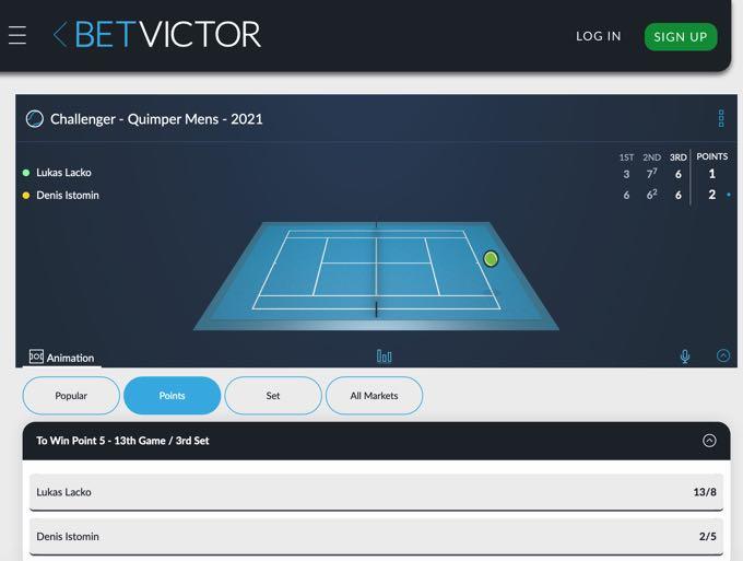 BetVictor Tennis