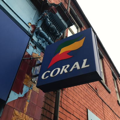 Outside of Coral Betting Shop