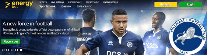 Energy Bet Millwall Sponsorship Announcement
