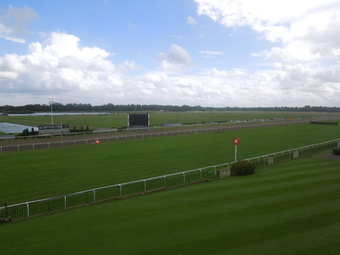 Artificial track at Kempton Park
