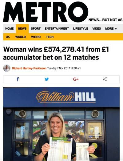 Metro £1 Acca Bet
