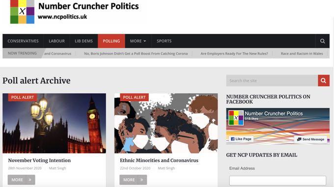 Number Cruncher Politics