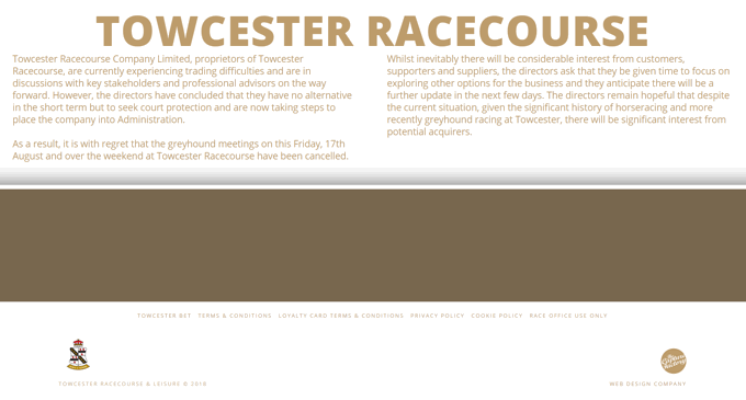 Towcester Racecourse Website