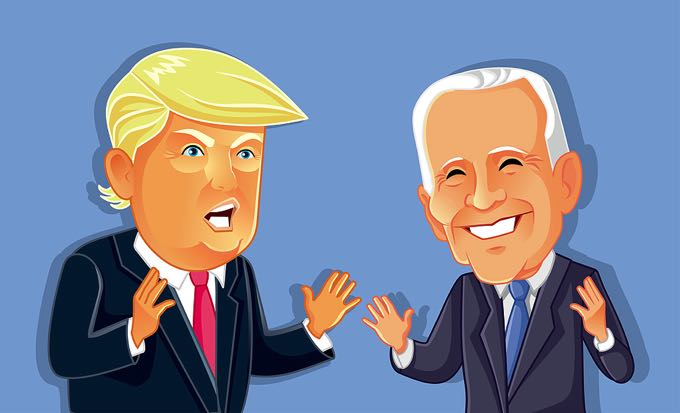 Trump v Biden