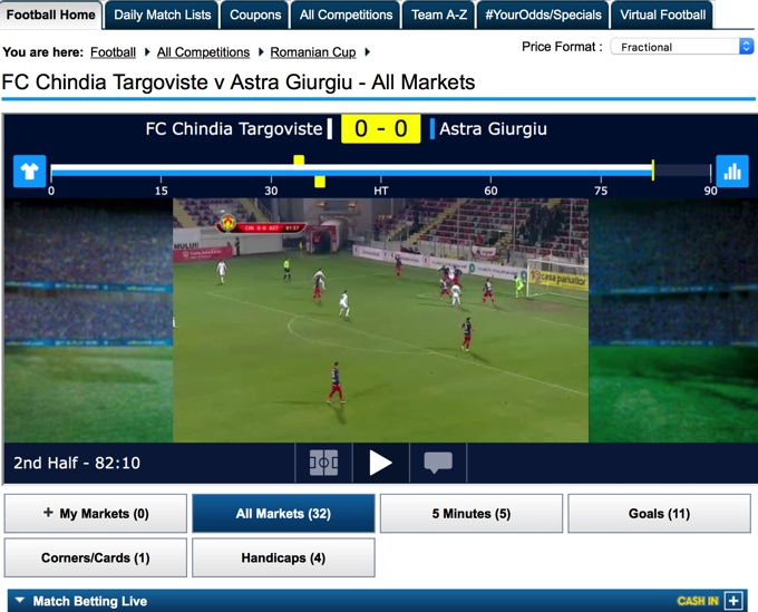 William Hill Live Stream