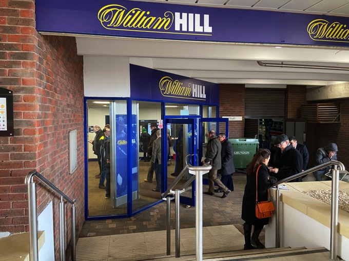 William Hill store front