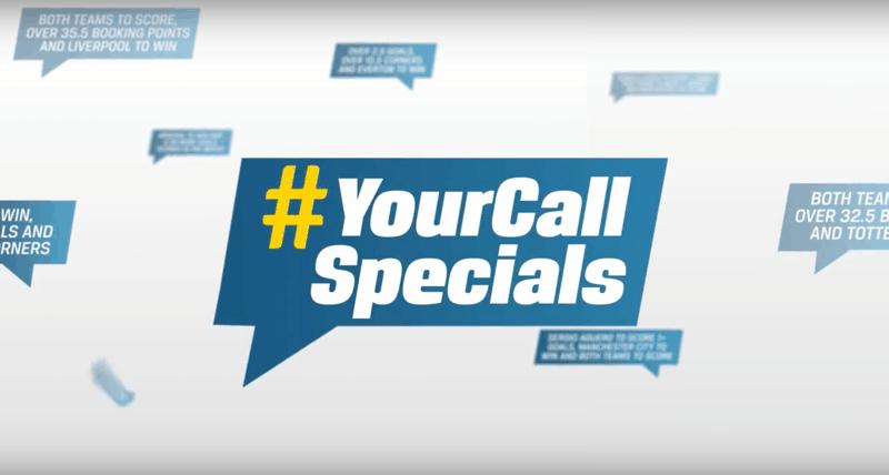 #YourCall Specials